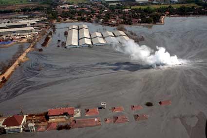 Bencana Geologi Runtuhnya Majapahit